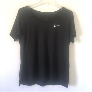 NIKE Dri-Fit Swoosh Short Sleeve Workout XL Shirt